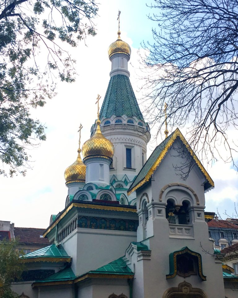 den russiske kirke sofia