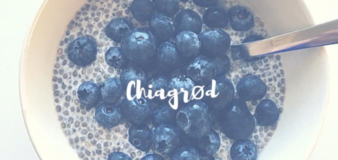 opskrift på chiagrød