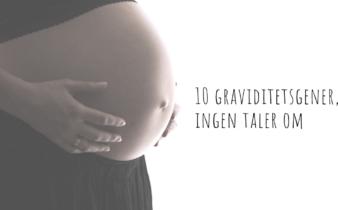 10 graviditetsgener, ingen taler om